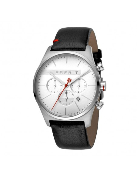 Esprit ES1G053L0015 Ease Chrono White Black Mens Watch Chronograph