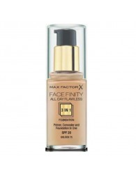 MAX FACTOR Max Factor Facefinity 3 In 1 Primer, Concealer And Foundation Spf20 75 Golden 30ml MAX FACTOR MAX FACTOR