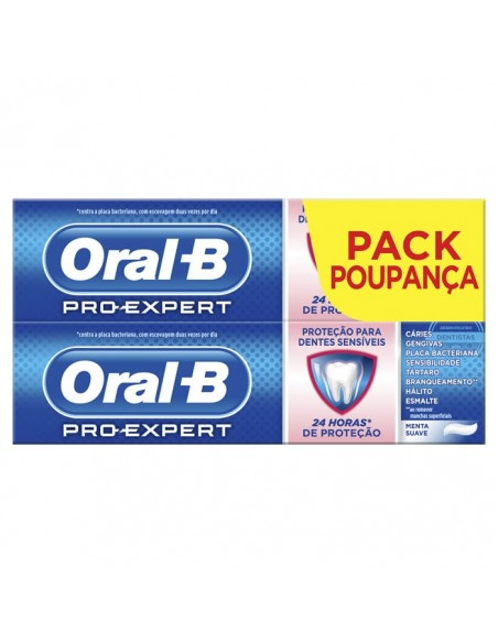 Oral-B Pro-Expert Sensitivity & Whiteness Toothpaste 75ml Box 2 Products 2017