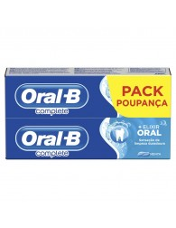 Oral-B Complete Mouthwash Toothpaste + Whiteness 75ml Box 2 Products 2017