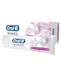 8001090629203 Oral-B 3D White Luxe Whitening Therapy Sensible Dentifrice 75ml