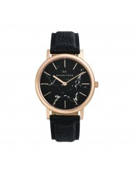 Sognatore Marble Black Rose Gold Ladies Watch / Mens Watch