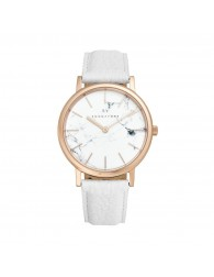 Sognatore Marble White Rose Gold Ladies Watch / Mens Watch