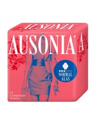 Ausonia Normal With Fins Sanitary Napkins 14 Units