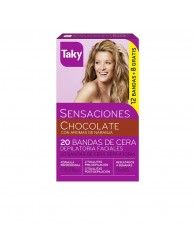Taky Wax Strip for Face Orange Scent 20 Units