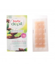Byly Depil Body Depilatory Strips With Chocolate 12 Units