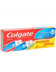 Colgate Caries Protection Toothpaste 2x75ml