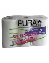 8000032001022 Pura 2-Ply Toilet Roll 6 pack
