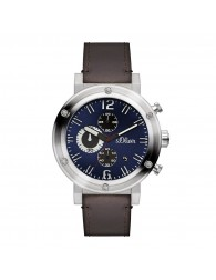 Montres Homme s.Oliver pas cher s.Oliver SO-15158-LCR Montre Hommes Chronographe pas cher