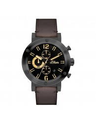 Montres Homme s.Oliver pas cher s.Oliver SO-15159-LCR Montre Hommes Chronographe pas cher