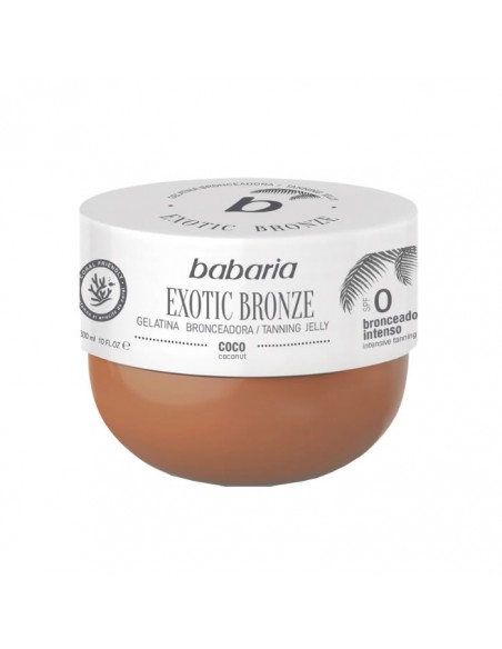 Babaria Exotic Bronze Tanning Jelly Spf0 Coconut 300ml