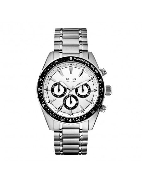 Montres Homme Guess Pas Cher Montre Guess Dodecagon W16580G1 Montre Hommes Chronographe Pas Cher