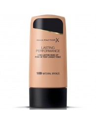MAX FACTOR Max Factor Lasting Performance Fond De Teint 109 Natural Bronze MAX FACTOR MAX FACTOR