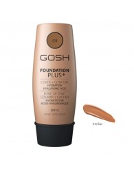 Gosh Foundation Plus + Cover & Conceal Spf15 010 Tan 30ml