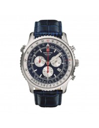 Montres Homme Swiss Alpine Military Pas cher Swiss Alpine Military 7078.9535SAM Montre Hommes Chronographe