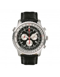 Montres Homme Swiss Alpine Military Pas cher Swiss Alpine Military 7078.9537SAM Montre Hommes Chronographe