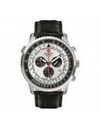 Montres Homme Swiss Alpine Military Pas cher Swiss Alpine Military 7078.9538SAM Montre Hommes Chronographe