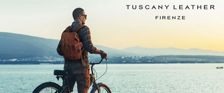 Tuscany leather backpack
